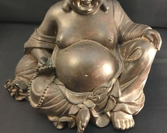 Vintage Fat and Happy Buddha Statue