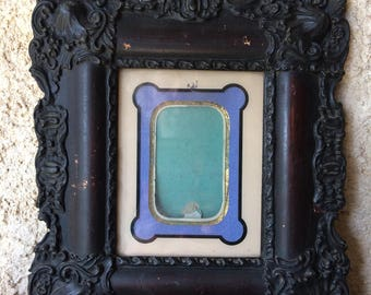 Carved French 19th cent. Louis XV style photo frame
