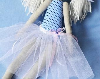 Dolly Maya - handmade collectible ballerina doll