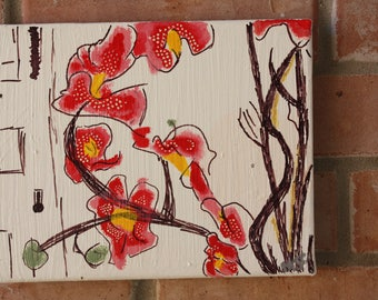 Orchid Painting-Lost in translation