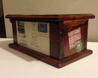 Eclectic Antique Small Chest