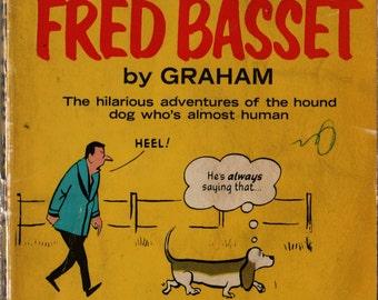 Meet Fred Basset - Graham - 1969 - Vintage Kids Book