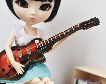Miniature Guitar - Pullip/Blythe/doll house/1/6/1:6 scale