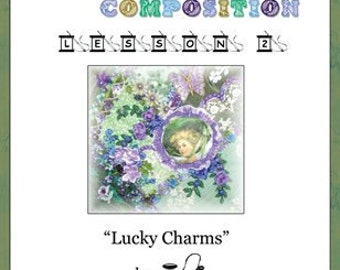 Crazy Quilt Block Pattern Lucky Charms by Pamela Kellogg
