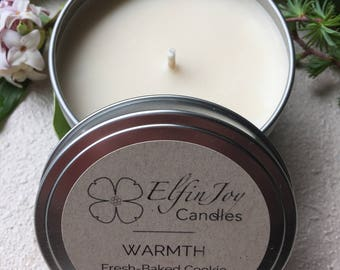 Fresh-Baked Cookie WARMTH Soy Container Candle