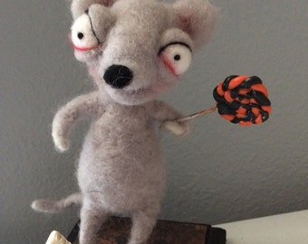 The hungry RAT Ooak art doll
