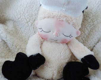 The Thrift Store BeBe Baby Cow for Charity Adopt Him To Help US Schools Fundraiser Artist Bear