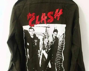 Vintage The Clash Army Shirt