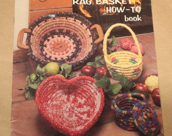 Country Rag Basket How-To Book. By Bobbie Matela. Produced by Rita Weiss. An American School of Needlework Book - Rag Basket Book /
