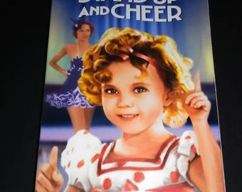 Free Shipping Stand Up and Cheer Sealed VHS tape Shirley Temple VHS Shirley Temple Movies Children's VHS tapes