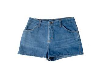 Vintage 70s Shorts - 70s Jeans Shorts - 70s Denim Shorts - Daisy Dukes - Vintage Daisy Dukes - Daisy Duke Shorts - 70s Shorts - L XL Shorts