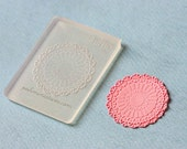 Doily Mold - Round Silicone Lace Mold