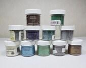 Embossing Powders 12 Jars- Gently Used