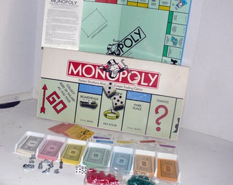 Vintage Monopoly Game - Complete - Family Fun - Board Game