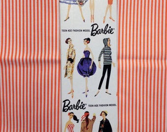 Vintage Reproduction Mattel 1950s Barbie Doll Box Only