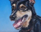 reserved, Custom Oil Portrait Painting by puci