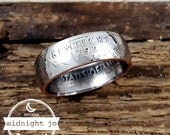 Coin Ring Kentucky State Quarter Double Sided MR0705-TSTKY