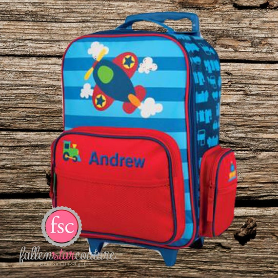 Stephen Joseph Rolling Luggage Personalized Kids Luggage