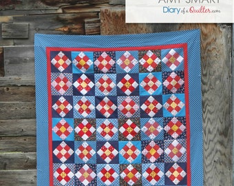 A Stitch in Time - quilt pattern - PDF version