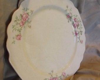 Homer Laughlin Dinner Plate-Vintage-