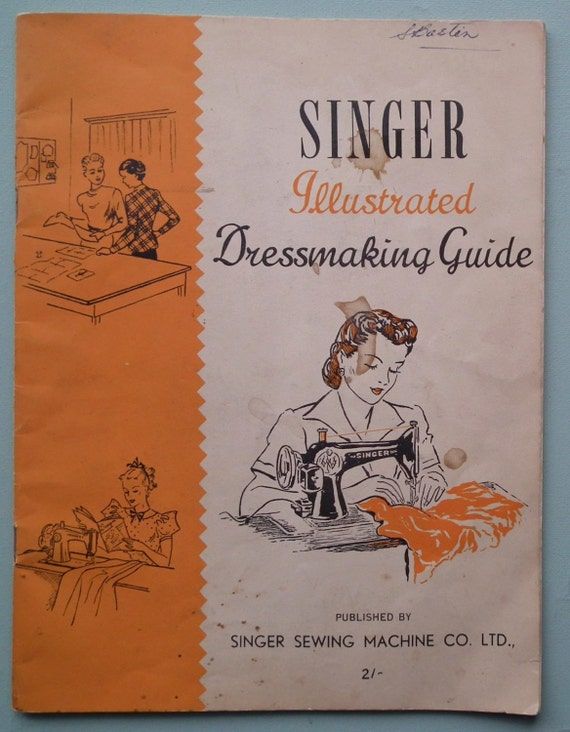 Vintage Sewing Book 95