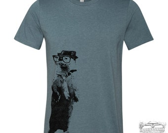 Men's River OTTER t shirt s m l xl xxl (+ Color Options)
