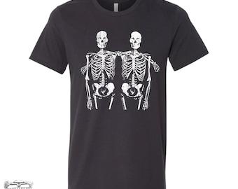 Mens SKELETONS T Shirt s m l xl xxl (+ Color Options)