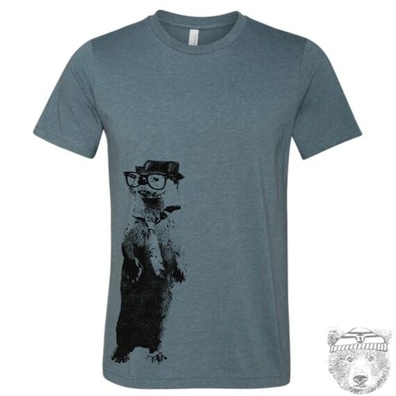 Men's River OTTER t shirt s m l xl xxl (+ Color Options)