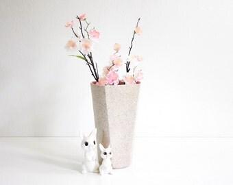 SALE - Mid Century Modern Pink Shawnee Vase / Vintage Shawnee Flower Vase / Pink Mid Century Vase / Mid Century Shawnee Vase