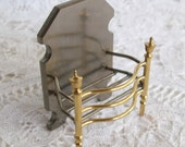 Miniature, one inch scale, English Fireplace Grate made by Alec Rothwell