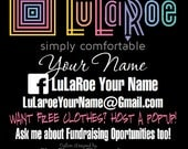 LuLaRoe Vehicle Decal - Customizable - Vinyl Graphic