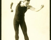 Boxer/Pugilist - Steve Nelson - 1910s Promotional RPPC