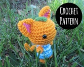 PATTERN - Crochet - Animal Crossing Cat Villager - Tangy Amigurumi.