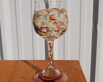 Handblown Wineglass Made in USA