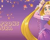 Listing for Laura- Disney Aprons