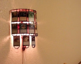 Corded Magic Card Wall Lamp - 5 Colors