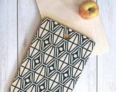 Midcentury Modern Geometric Cutting Board // Kitchen // Wood Serving Board // 3 Sizes // Round, Square, Rectangular // Metro Steel Design