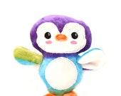 Rainbow Penguin Plush Stuffed Toy
