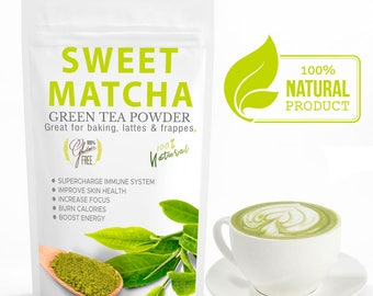 Sweet Matcha Green Tea 16oz/30 Servings - FREE 1-3 Day USA Shipping