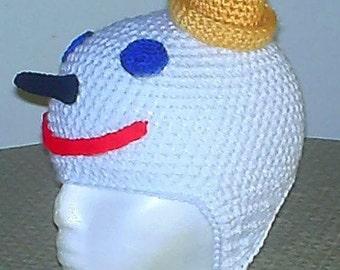 JB  Earflap Hat Crochet PDF Instant Download  Pattern