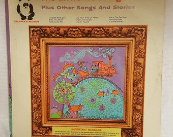 The Little Red Engine Plus other songs and stories - Vintage Record