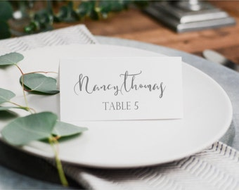 Table Place Cards, Name Card, Fold-Over Name Cards,Name Place Cards