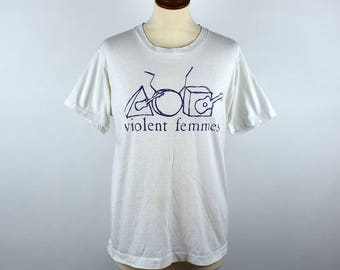 1984 Violent Femmes T-Shirt, Screen Stars Label
