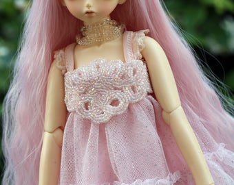 Pretty in Pink Dress for MSD BJDs