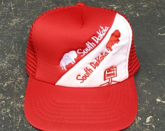 Vintage South Dakota Trucker Hat