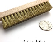 Brass Brush - Soft bristle brush - Excellent for clean up