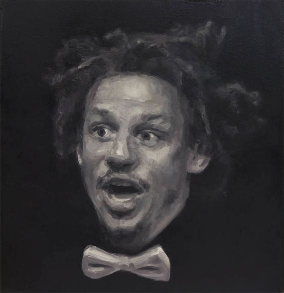 Eric Andre, Original Oil Painting