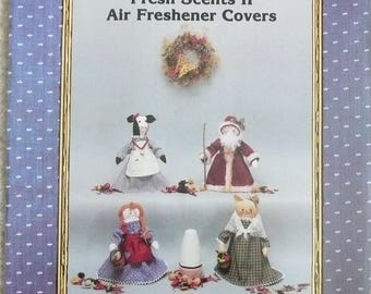 Country Patterns, Fresh Scents II, Air Freshener Covers Pattern, Santa Air Freshener Pattern, Cat Air Freshener Pattern, Cow Air Freshener