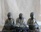 Vintage Mid Century Japanese Buddha Incense Burner