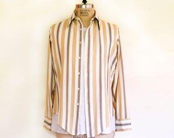 Vintage Vanknit Striped Shirt